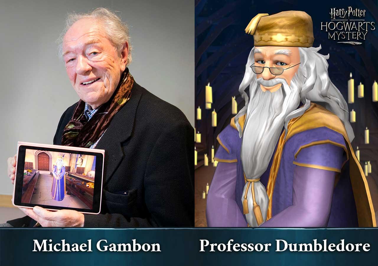 Harry Potter: Hogwarts Mystery - Michael Gambon