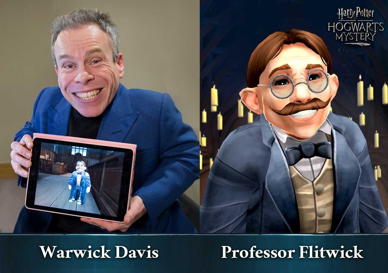 Harry Potter: Hogwarts Mystery - Warwick Davis