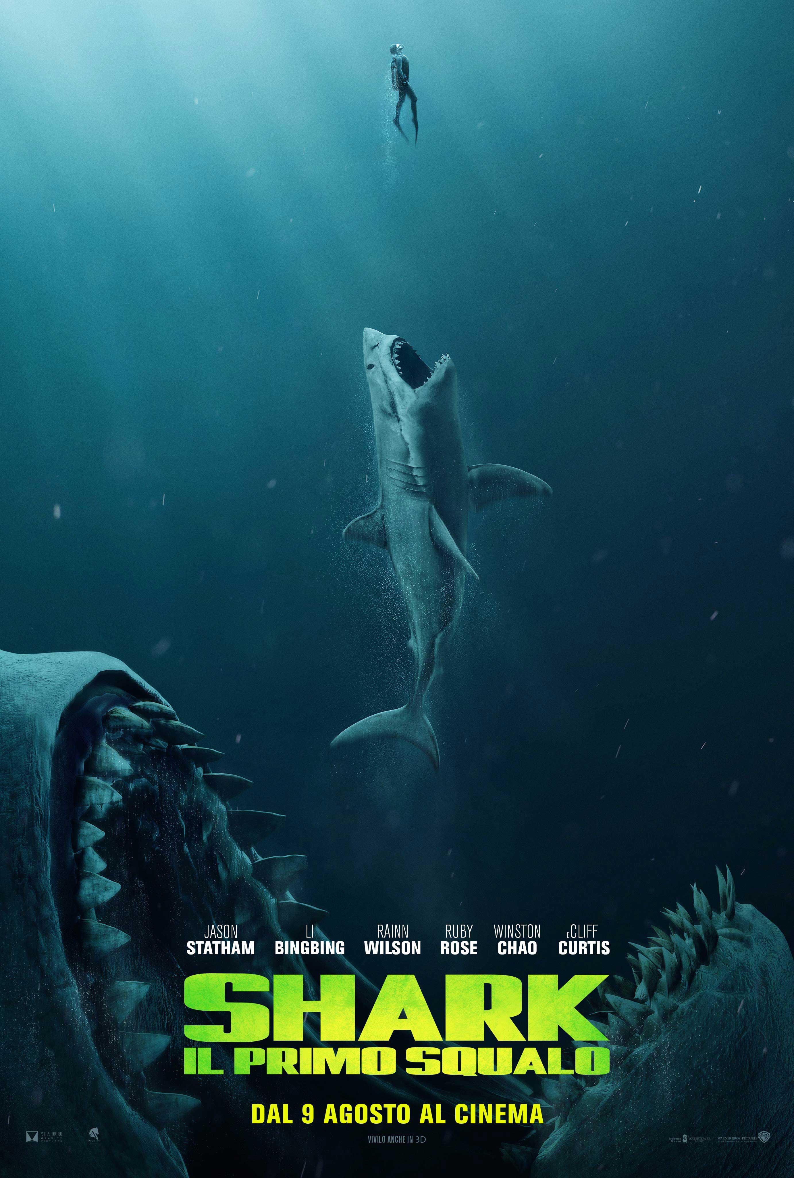 Shark - Il pimo squalo: Teaser Poster Italiano del Film