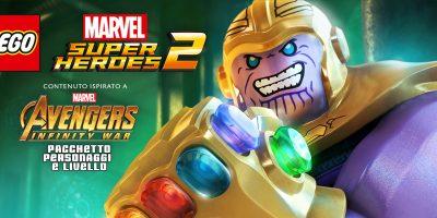 LEGOMarvel Super Heroes2 – Marvel's Avengers: Infinity War DLC Pack Annunciato