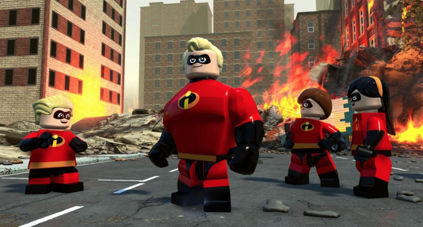 LEGO® Gli Incredibili - Foto dal gioco
