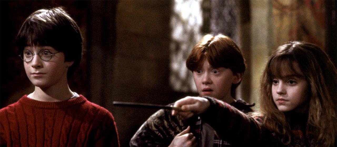 Harry Potter e la Pietra Filosofale - Foto dal film