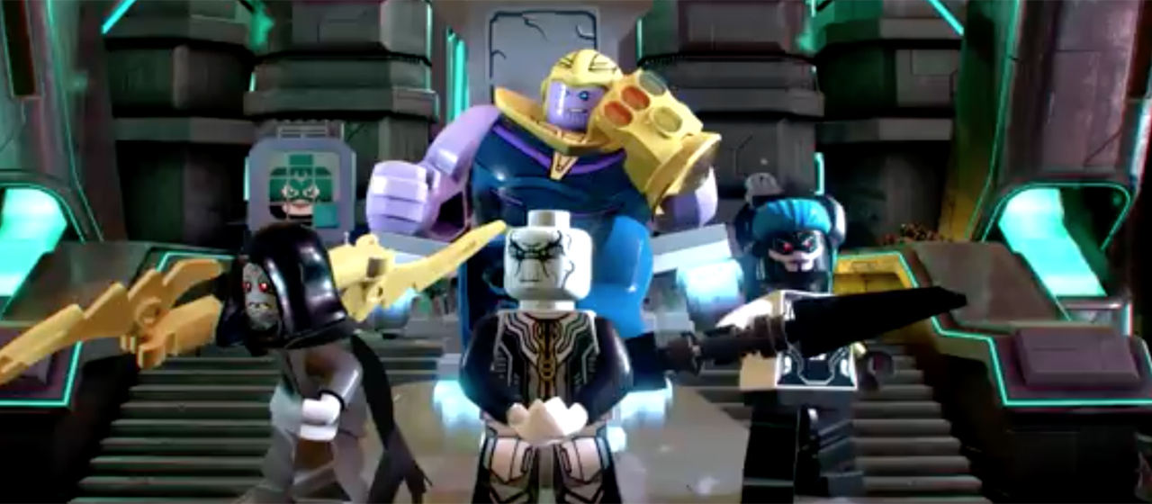 "LEGO® Marvel Super Heroes 2 - DLC ""Marvel's Avengers: Infinity War - screenshot dal trailer"