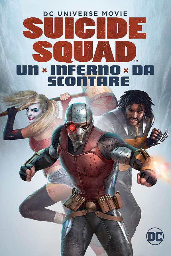 Suicide Squad   Un inferno da scontare_Poster Italia
