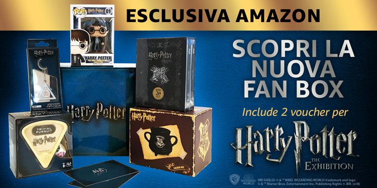 La Fan Box di Harry Potter per Amazon