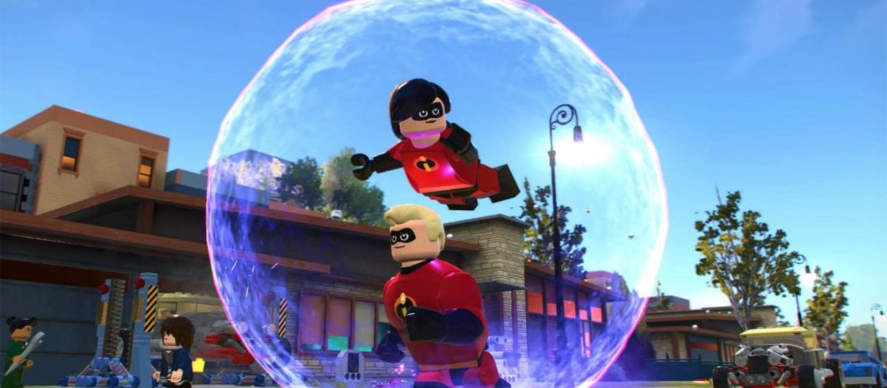 Lego - Gli Incredibili, immagine dal gioco
