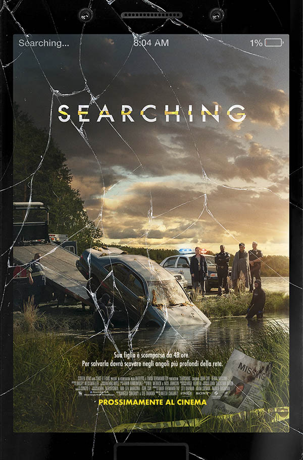 Searching_Teaser Poster Italia