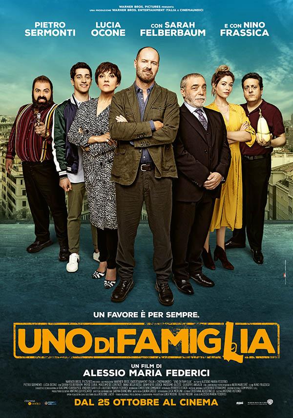 Uno di famiglia_Poster Italia