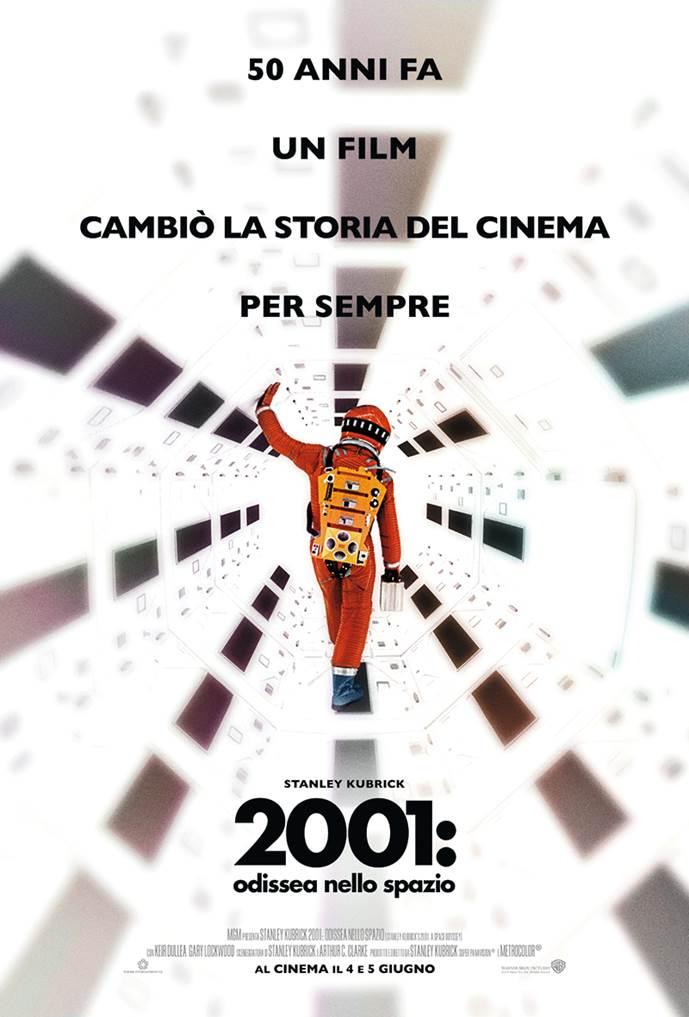 50 anni di 2001: Odissea nello spazio - Poster Ufficiale Italiano