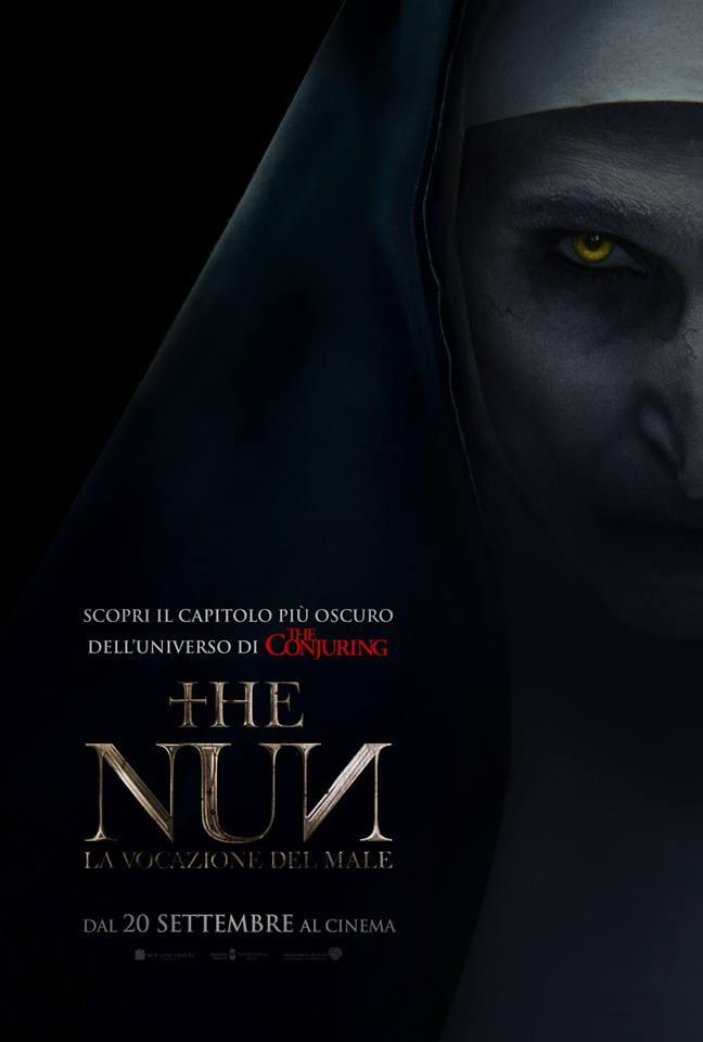 The Nun - la vocazione del male: Poster Ufficiale Italiano