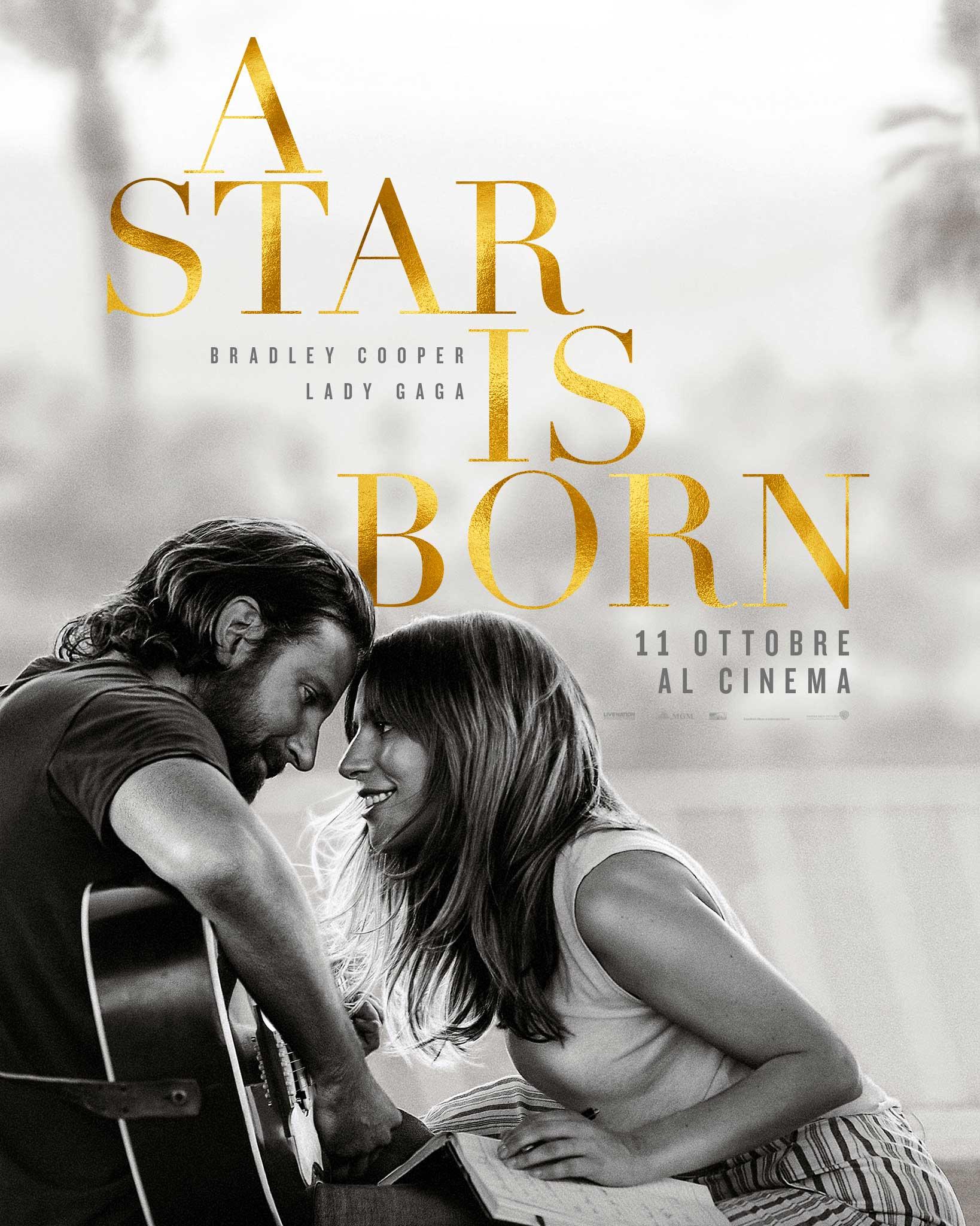 A Star Is Born - Poster Italiano Ufficiale del Film