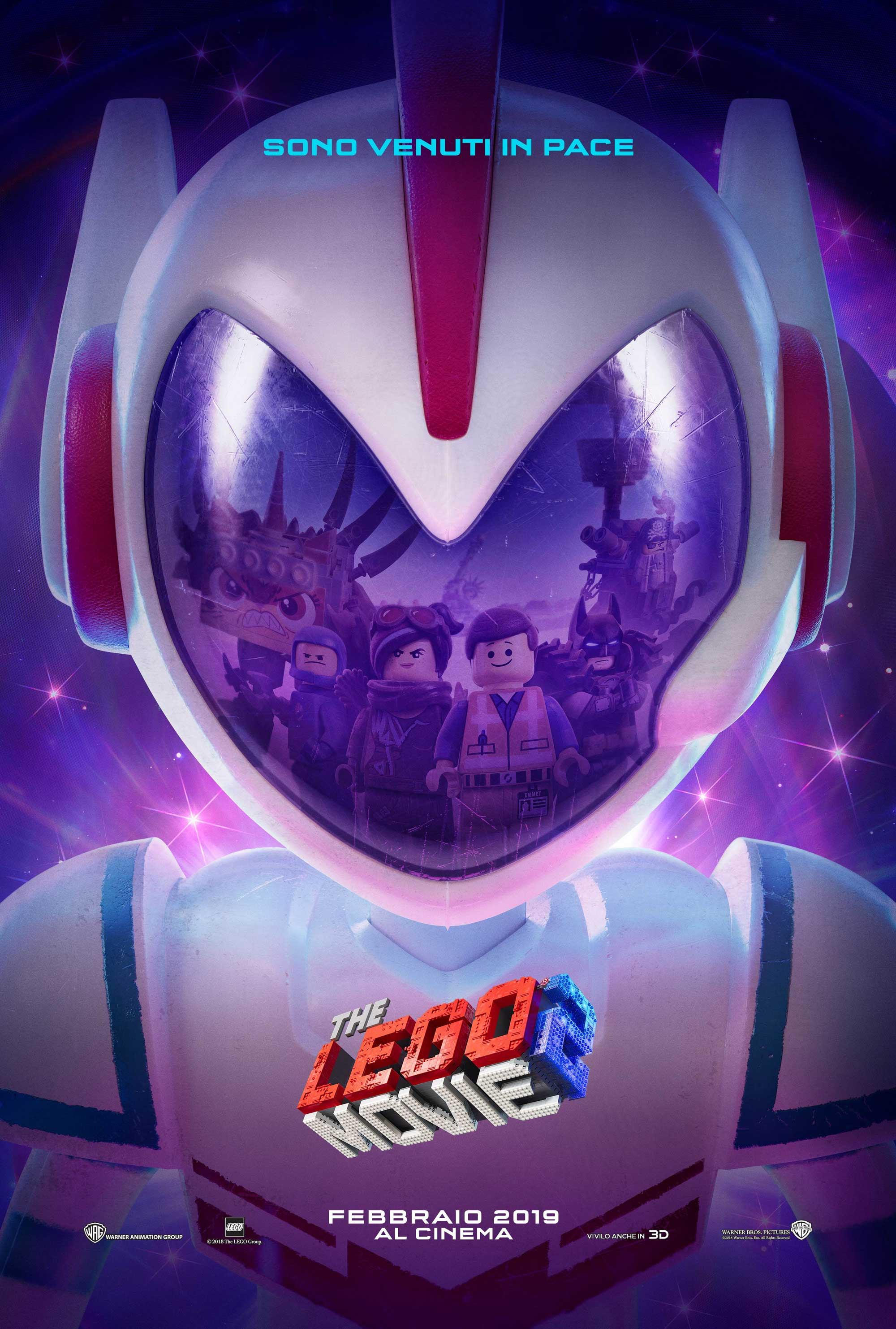 THE LEGO MOVIE 2 - Teaser Poster Ufficiale Italiano