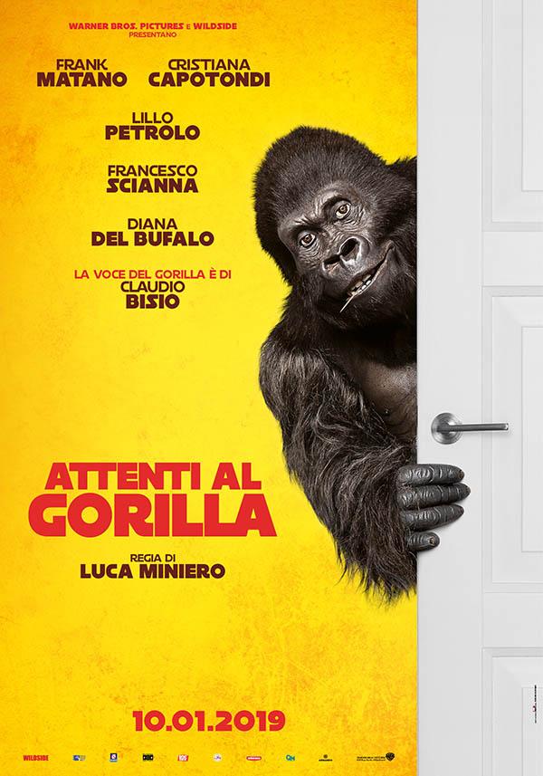 Attenti al Gorilla Poster Italia