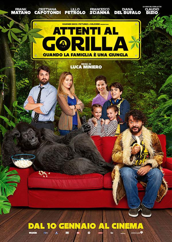 Attenti al Gorilla_Poster Italia