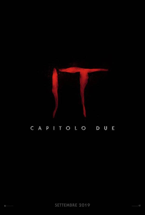 IT CAPITOLO 2 Teaser Poster Italia
