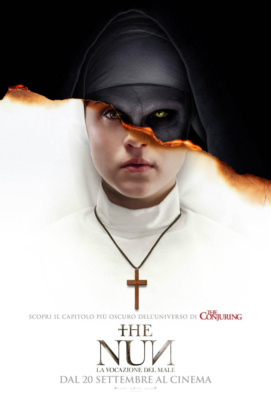 The Nun - La vocazione del male: Nuovo Poster Ufficiale Italiano