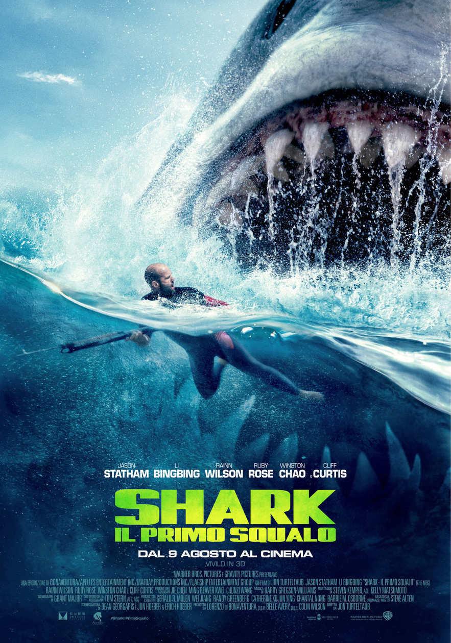 Shark: l'ultimo squalo _ Poster Italiano Ufficiale del Film