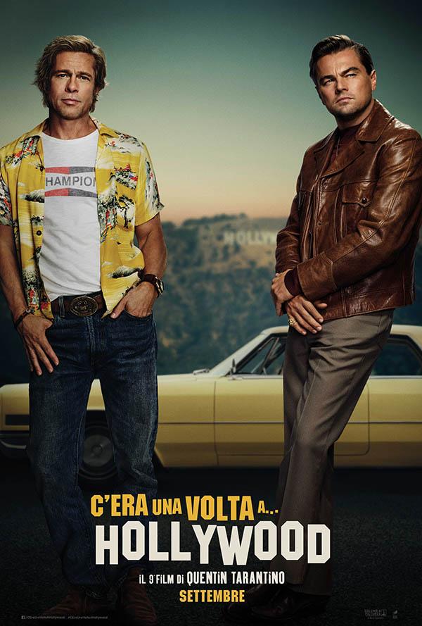 C'era una volta a Hollywood_Teaser Poster Italia