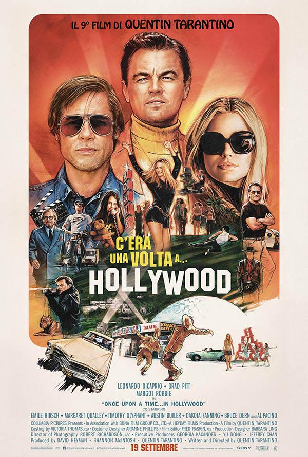 C'era una volta...a Hollywood Poster Italia