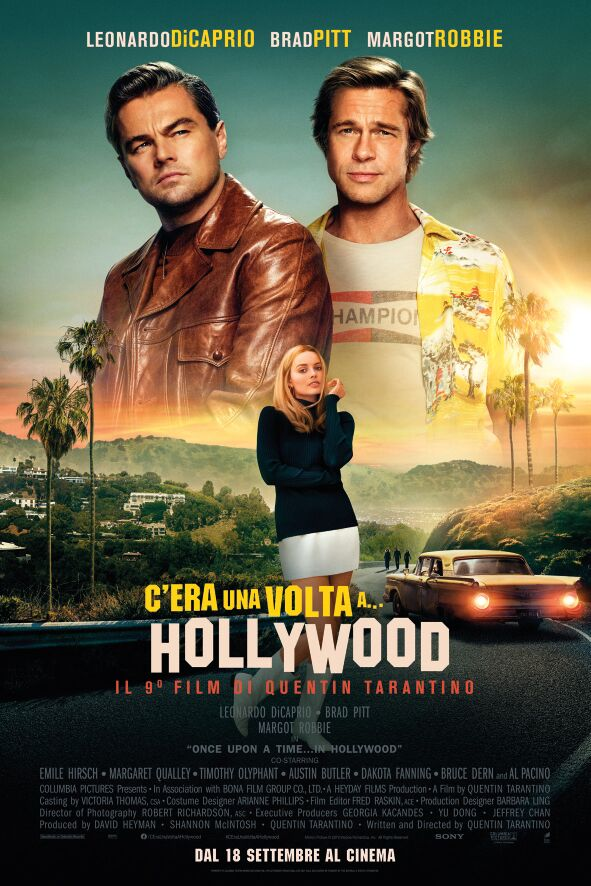 C'era una volta...a Hollywood_Poster Italia