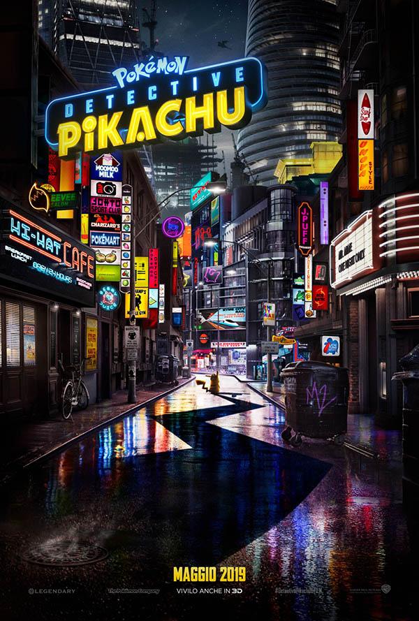 POKÉMON Detective Pikachu_Teaser Poster Italia