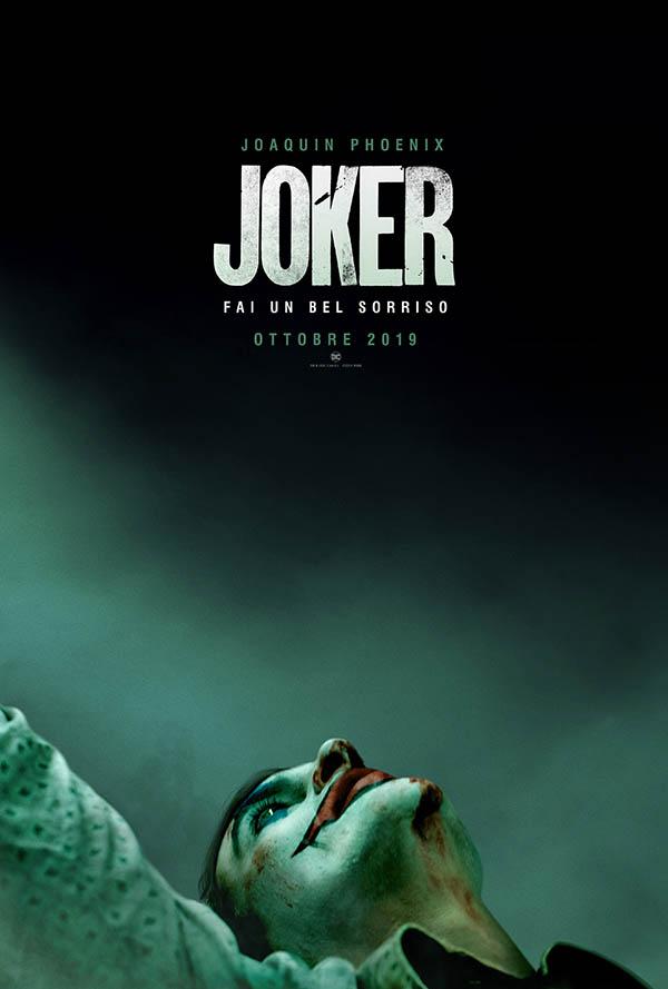 Joker Teaser Poster italiano del film