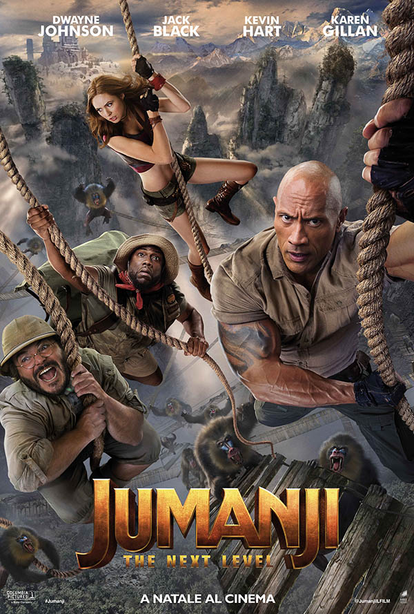 Jumanji   The Next Level_Poster Italia