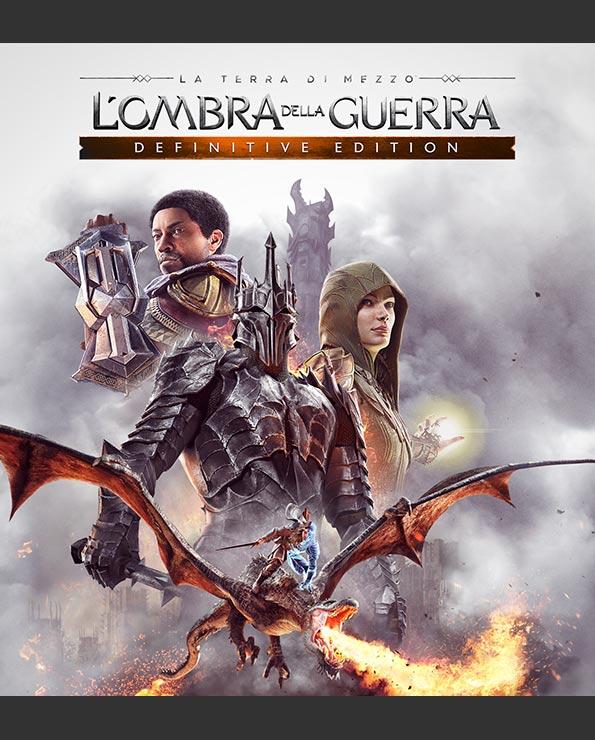 La Terra di Mezzo L'Ombra della Guerra_Poster