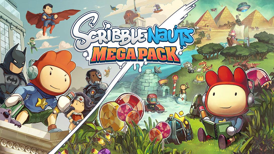 Scribblenauts Mega Pack - Key Art