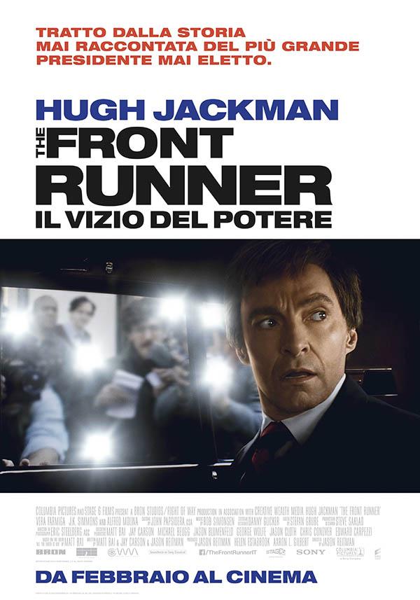 The Front Runner   Il Vizio Del Potere_Teaser Poster Italia