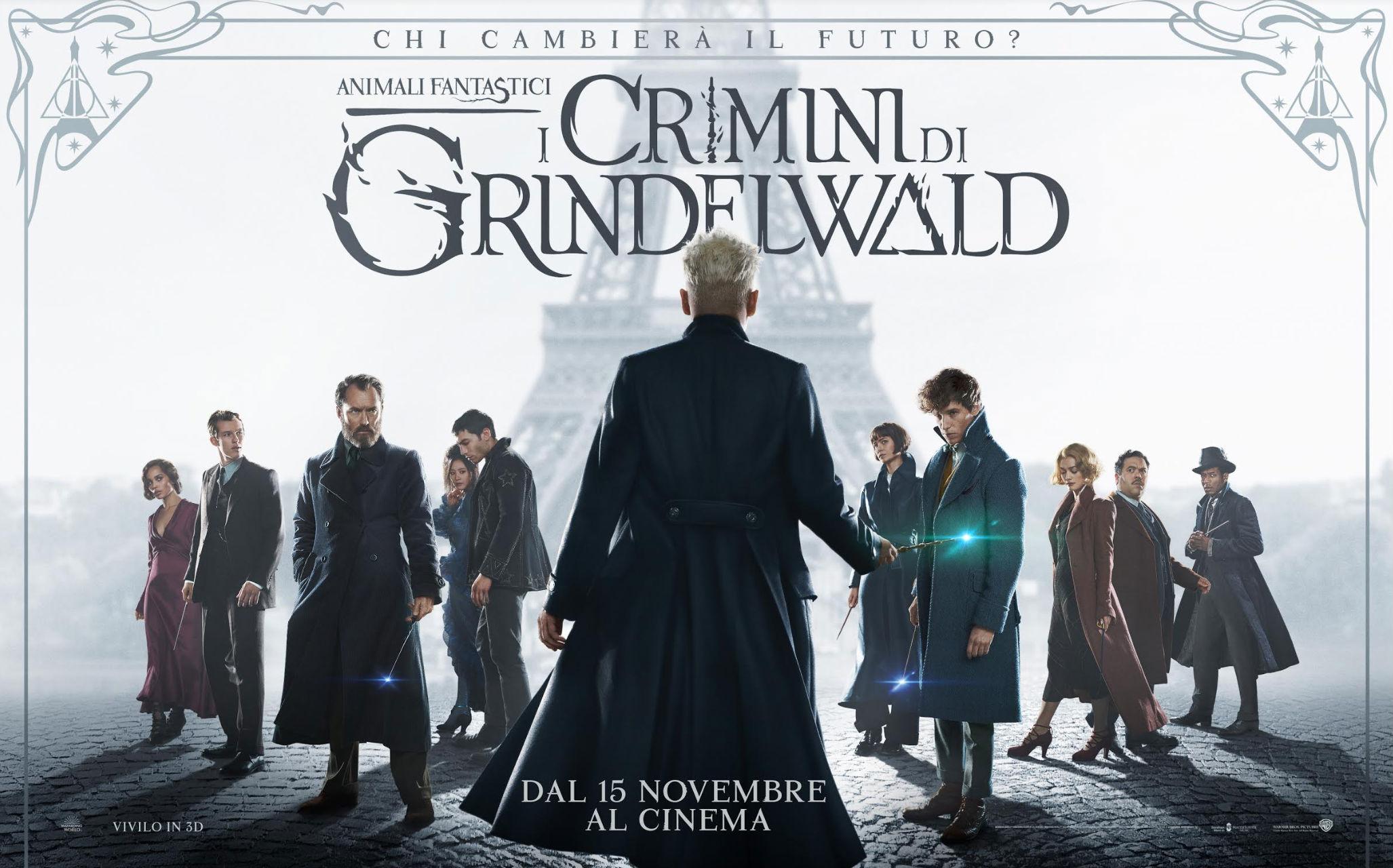 Animali fantastici I crimini di Grindelwald - Foto Ufficiale dal film