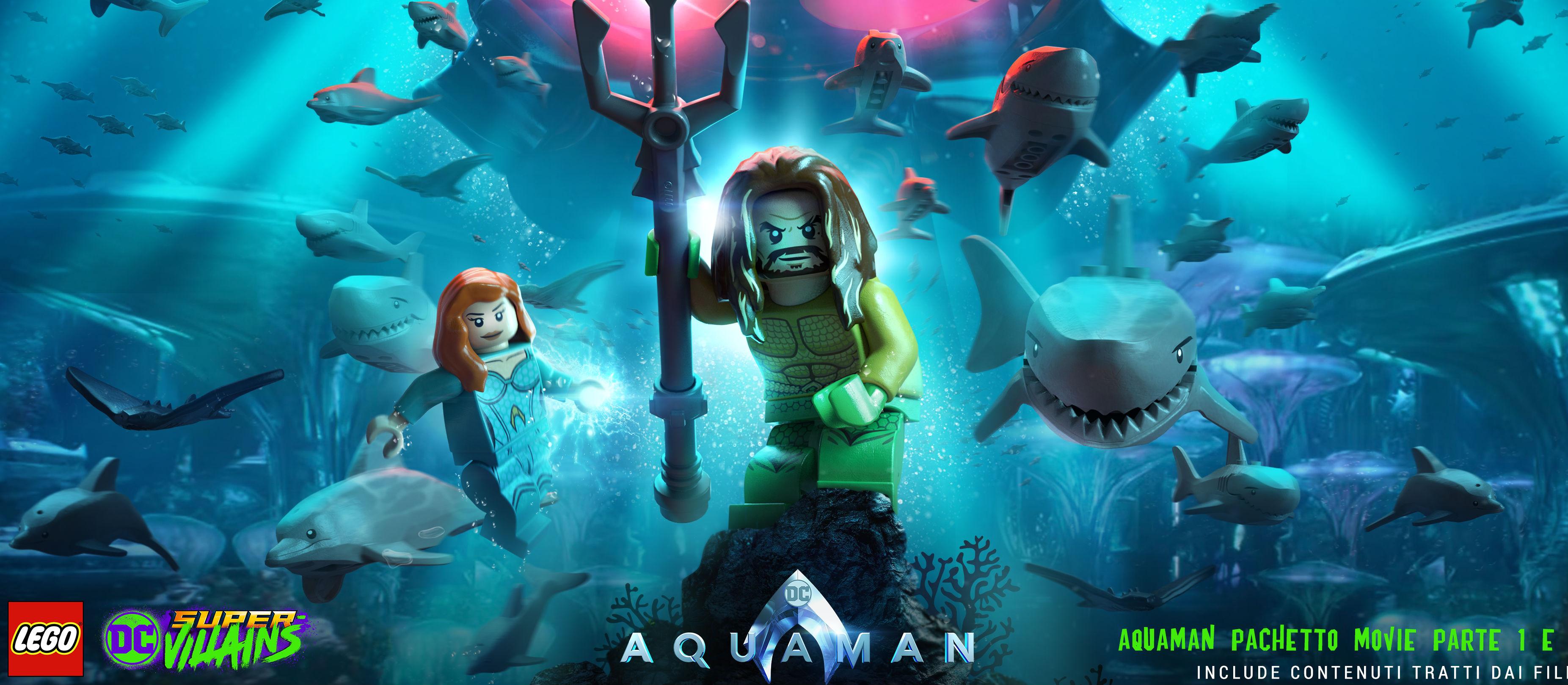 Aquaman per LEGO DC Super-Villains artwork