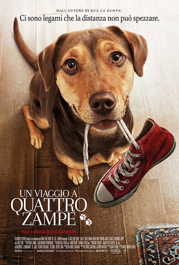 Un viaggio a quattro zampe Poster Italia
