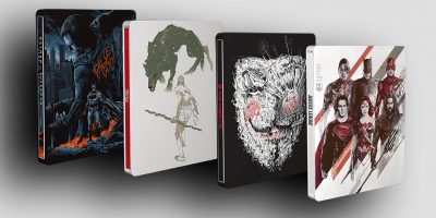 Justice League, Batman v Superman, 300 e V Per Vendetta: esclusiva edizione Blu-ray Mondo x SteelBook® per i quattro cult movie Warner Bros.
