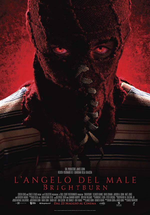 L'Angelo del Male Brightburn_Poster Italiano ufficiale
