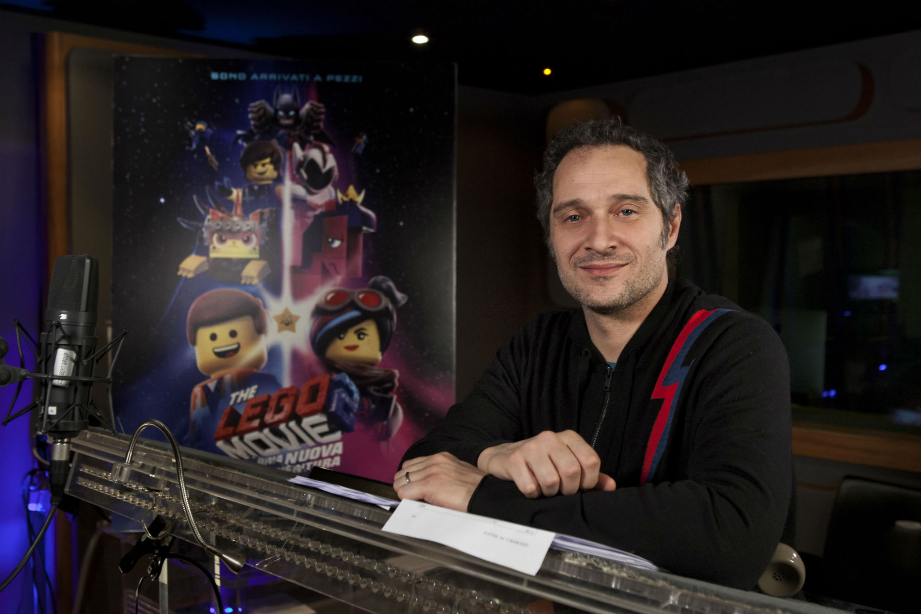 Claudio Santamaria The Lego Movie 2 21 Febbraio