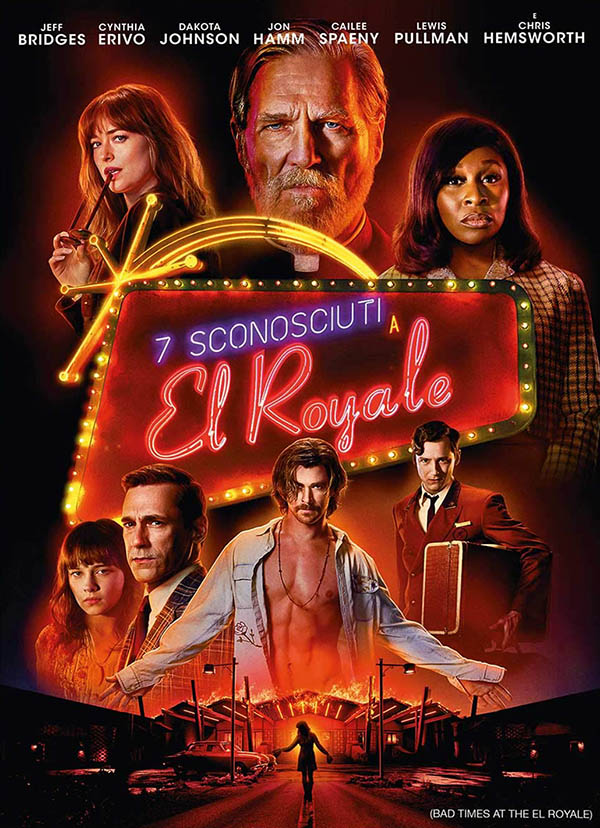 7 sconosciuti a El Royale_Homevideo