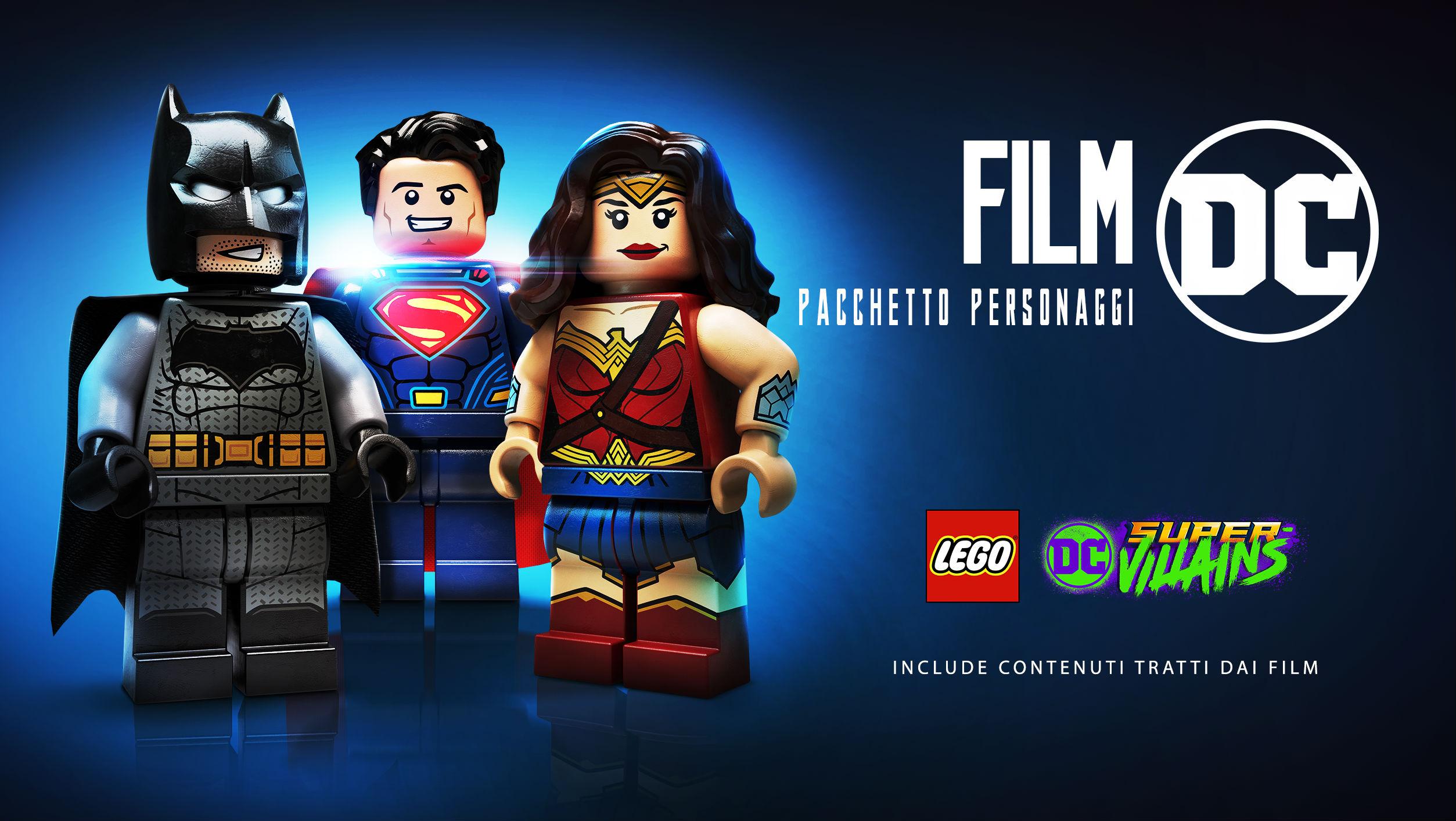 Lego Dc Super Villains - Artwork