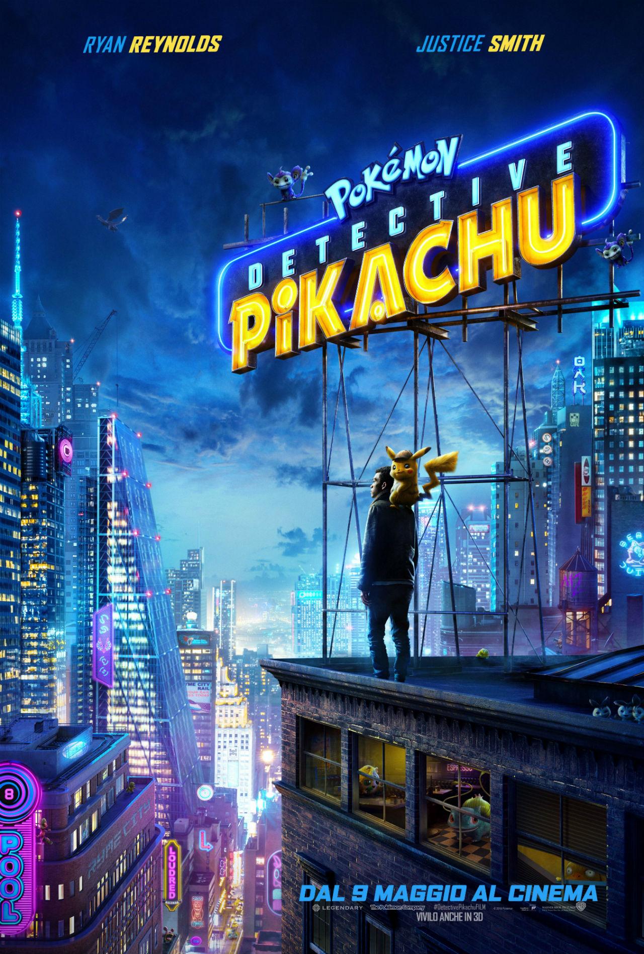 POKÉMON Detective Pikachu - Poster Ufficiale del Film