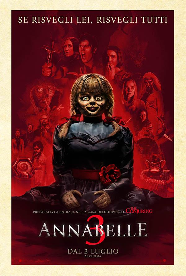 Annabelle 3_Poster Italia
