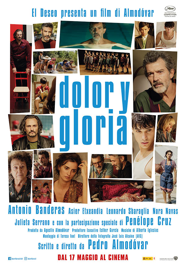 Dolor Y Gloria_Poster Italia
