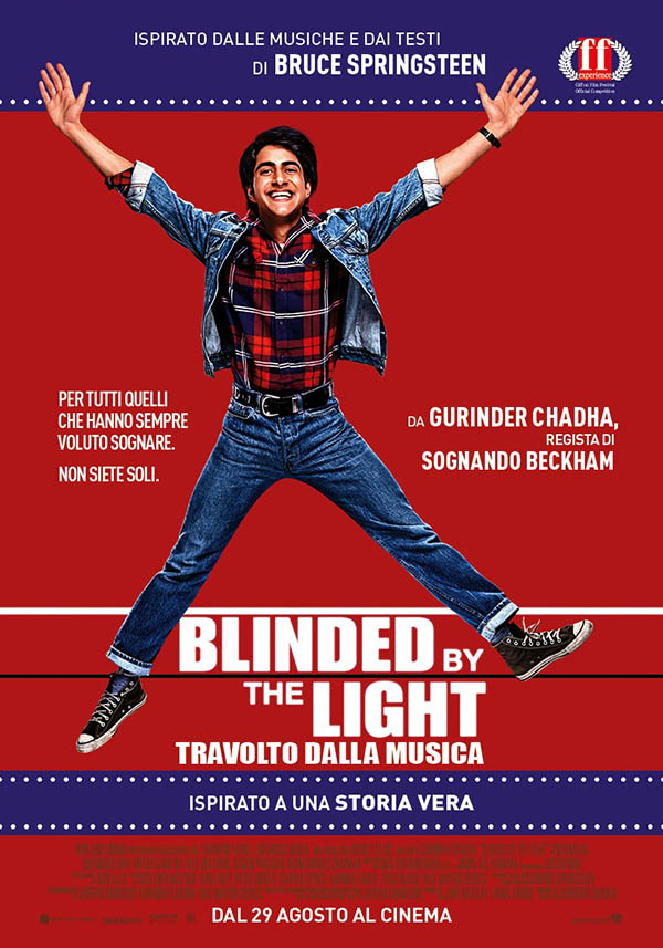 Blinded By the Light Poster Italia