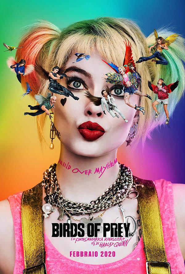 Birds of Prey (e la fantasmagorica rinascita di Harley Quinn)_Teaser Poster Italia