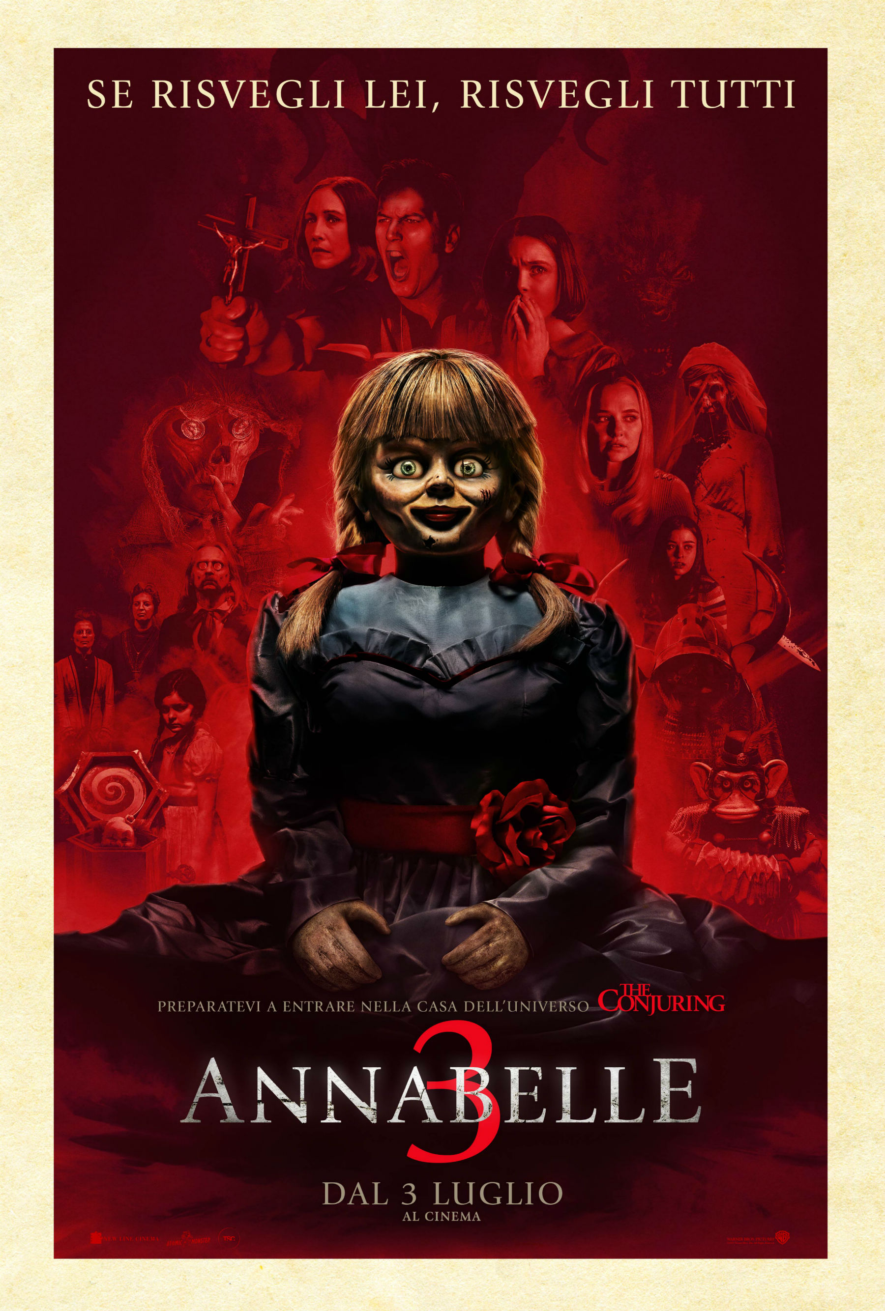 Annabelle 3 - Poster Ufficiale Italiano