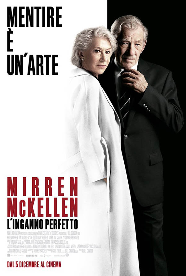 L'inganno perfetto_Poster Italia