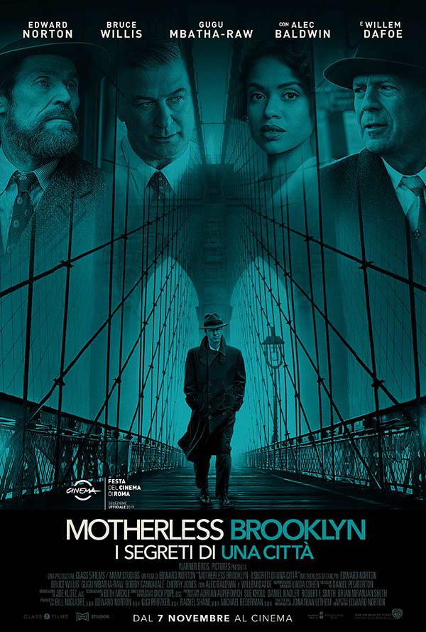 Motherless Brooklyn   I segreti di una città_Poster Italia