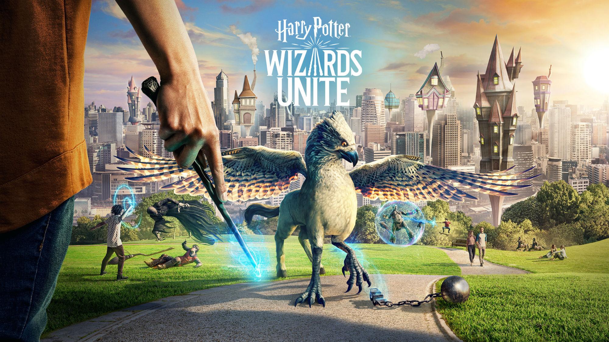 Harr Potter Wizard Unite - KeyArt