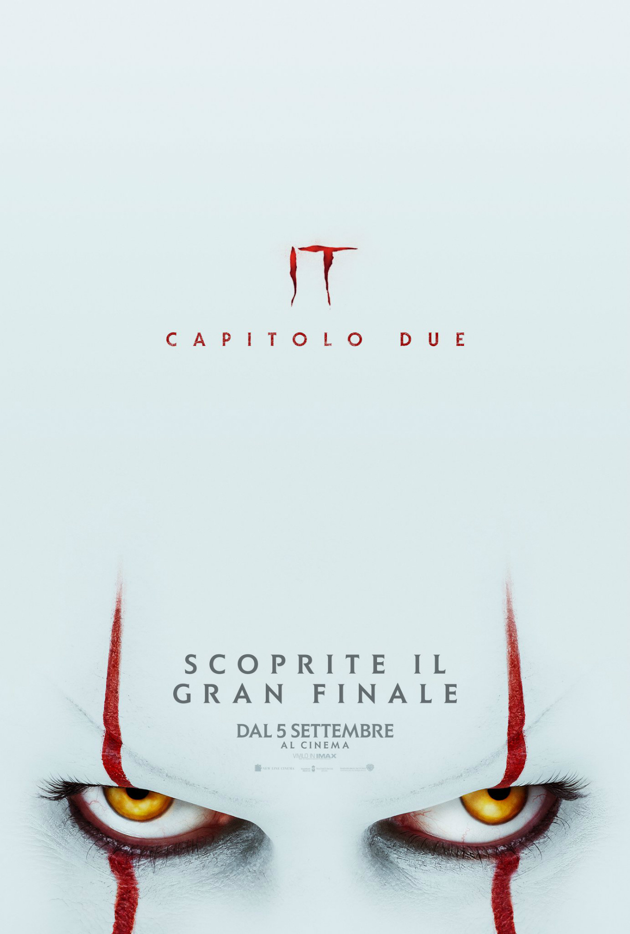 IT Capitolo Due- Poster Ufficiale Italiano del Film