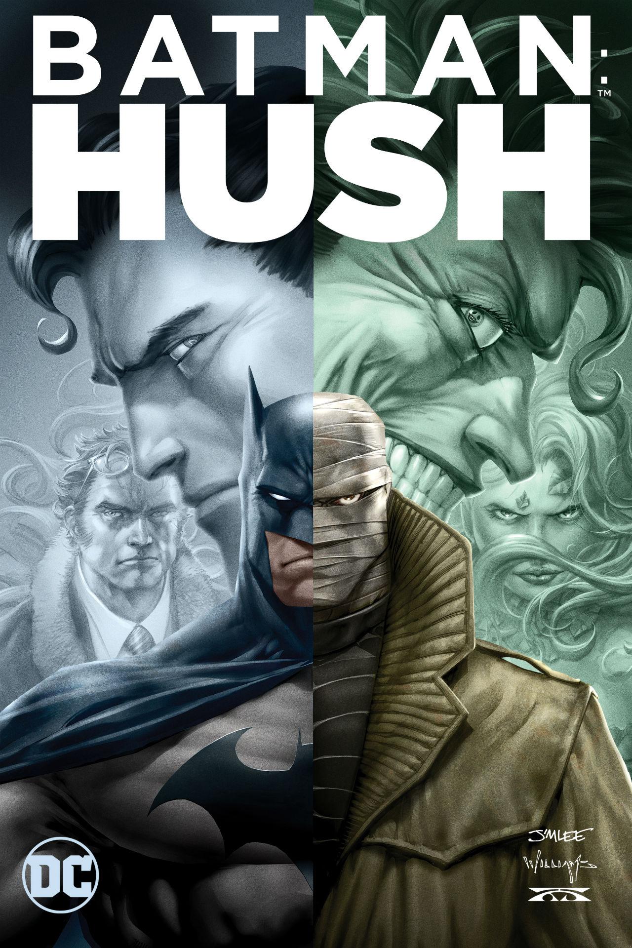 Batman Hush - Poster Ufficiale Italiano
