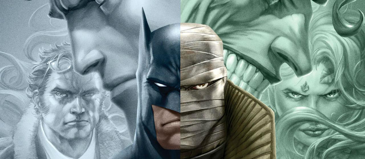Batman Hush - Dettaglio del poster ufficiale